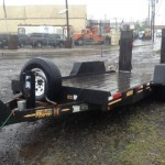 2002 Equipment trailer 15kGVW