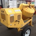 2004 Stow Cement Mixer 9 cu ft w/Honda 8hp