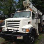 1998 Ford National crane truck