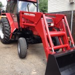 1991 Case 5100 Series w/loader bucket