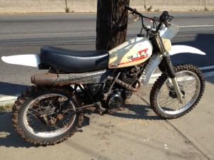 Yamaha TT dirtbike