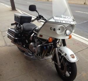 1998 Kawasaki 1000 Police