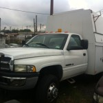 2001 Dodge Enclosed Utility